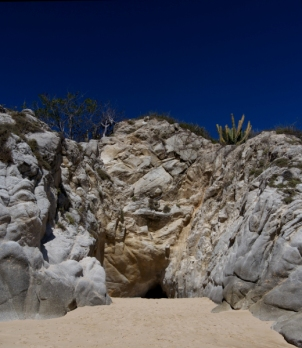Memory cave Tangolunda Bay, Huatulco, Oaxaca, México ©Adriana Citlali Ramírez, 2014
